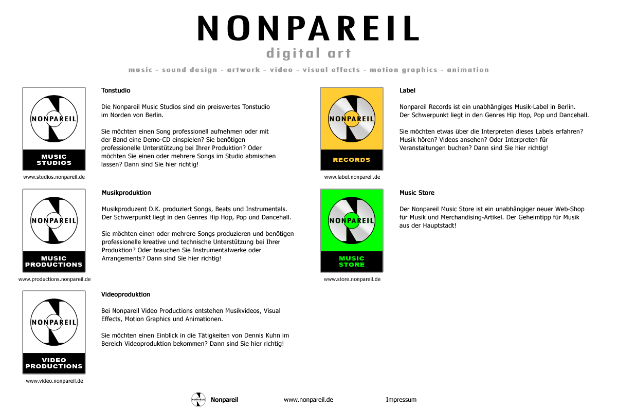 nonpareil - home